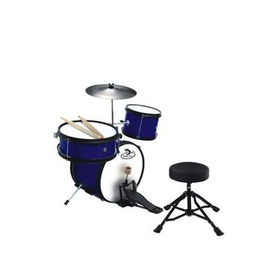 Ready Ace Bright Blue 5 Piece Junior Children's Professional Drum Set