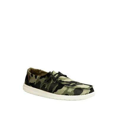 HEY DUDE Camouflage Wendy Loafers