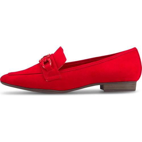 MARCO TOZZI, Slipper in rot, Slipper für Damen Gr. 40