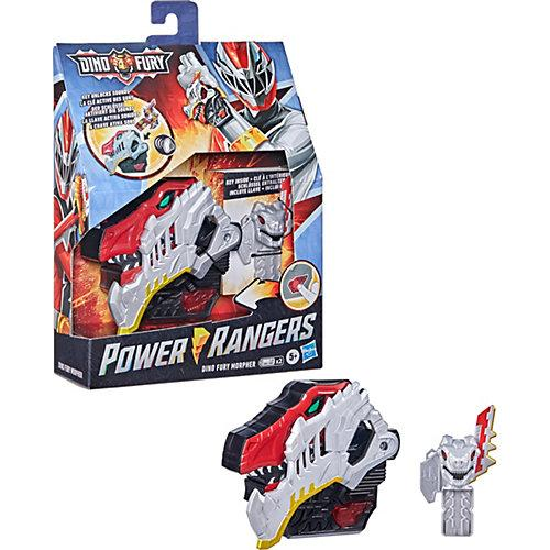 Power Rangers Dino Fury Morpher Elektronisches Spielzeug mit Lichtern, Sounds und Dino Fury Schlüssel Inspiriert von der Power Rangers Serie