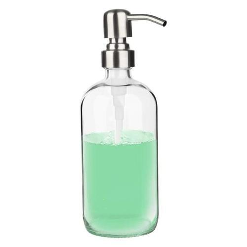 Seifenspender - Transparenter Seifenspender für Küchenspüle, Handseifenspender, ideal für