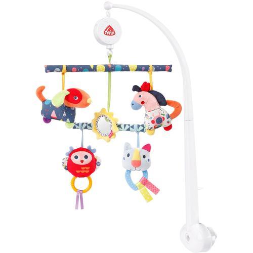 Fehn Mobile COLOR Friends Activity-Musik-Mobile bunt Kinder Mobiles Baby Kleinkind