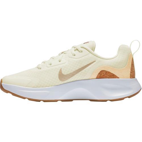 Nike Wearallday Sneaker Damen in sail-pale vanilla-praline-white, Größe 36 1/2