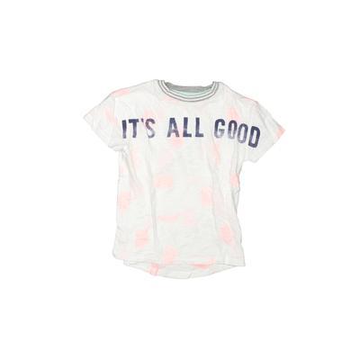 Gap Kids Short Sleeve T-Shirt: White Tops - Size 4