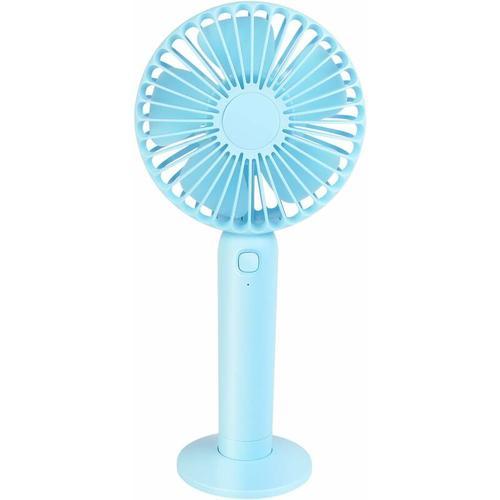 Mini Fan Portable Fan USB Rechargeable Fan Portable Mini Fan Desktop Fan 3 Wind Speeds USB Charging