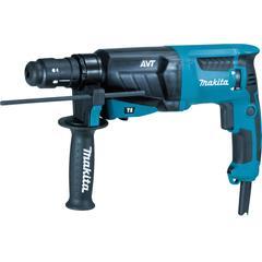 Makita Kombihammer HR2631FTJ, für SDS-PLUS 26 mm blau Profi-Werkzeug Werkzeug Maschinen