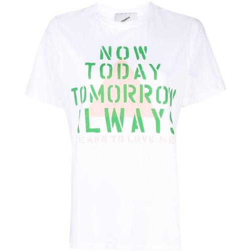 Coperni Now Today T-Shirt mit Logo-Print