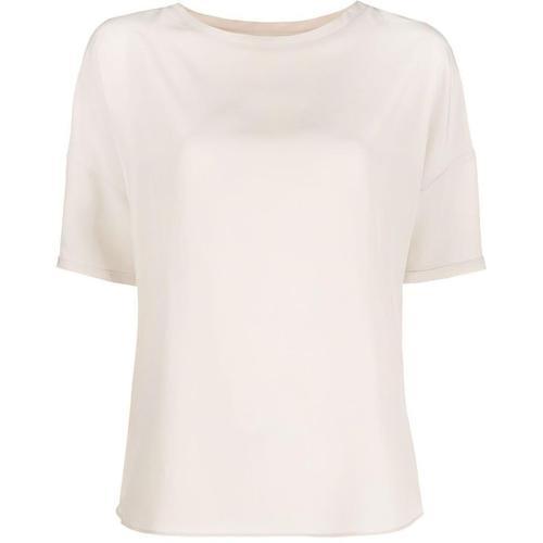 Aspesi T-Shirt mit abgerundetem Saum