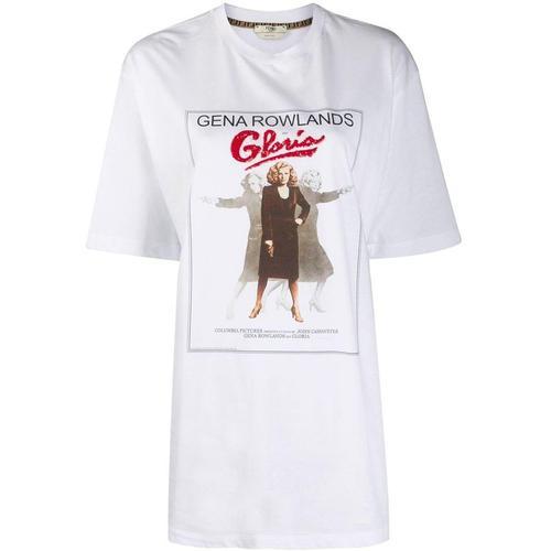 Fendi T-Shirt mit Foto-Print
