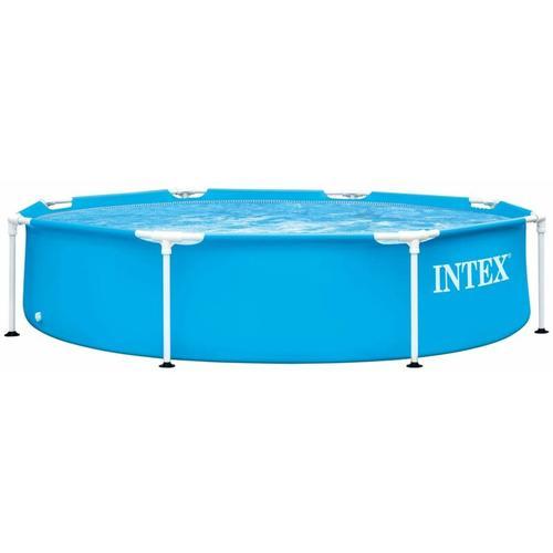 Swimming Pool Metallrahmen 244x51 cm - Intex