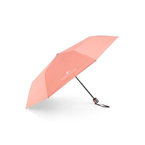 TOM TAILOR Unisex Extra kleiner Regenschirm, grau, Gr.OneSize