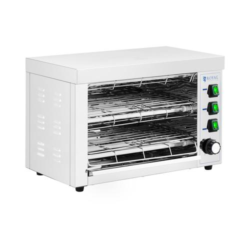 Royal Catering Salamander Grill - 3.250 W - 50 - 300 °C RCPES-340