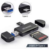 Lecteur de carte SD + USB 3.0 + ...