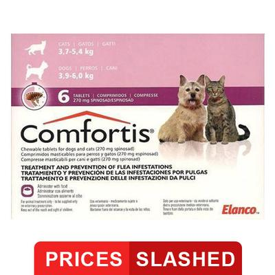 Comfortis For Large Cats 12-25 lbs (560mg) 3 Chews