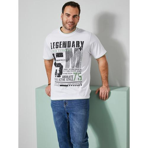 T-Shirt Men Plus Pistaziengrün