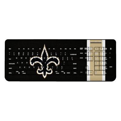 New Orleans Saints Stripe Wireless Keyboard