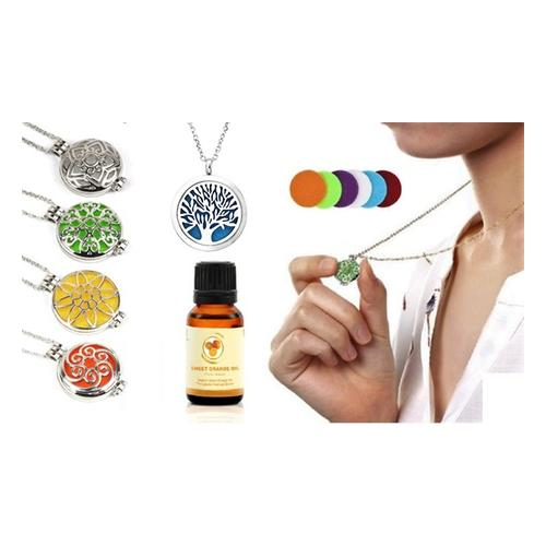 Aroma-Diffusor-Halskette: Halskette/ Blumen