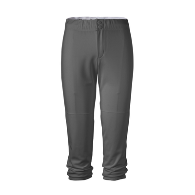 Soffe Intensity N5300 Athletic Women's Baseline Pant in Gunmetal size XS | Polyester