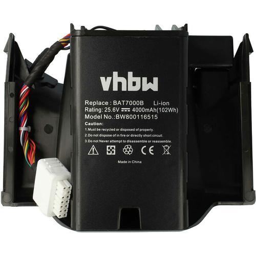 vhbw Akku passend für Robomow MRK7005A Rasenmäher Rasenroboter (4000mAh, 25.6V, Li-Ion)