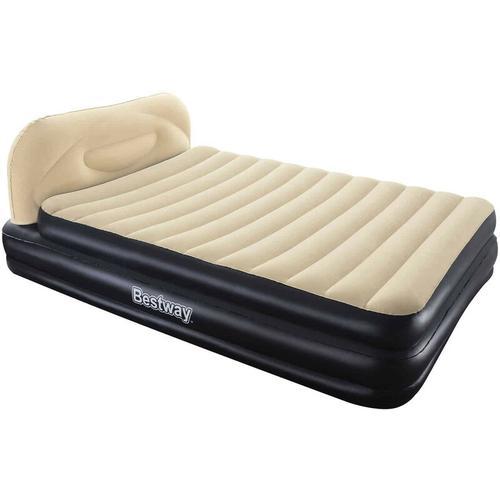 Aufblasbares Bett Queen mit integrierter aufblasbarer Kopfstütze- 67483 - Bestway