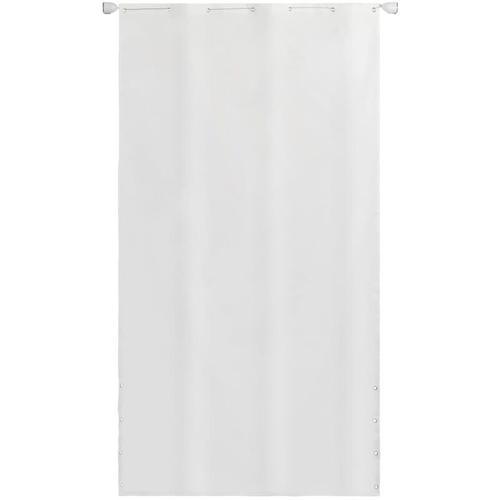 Senkrechtmarkise Oxford-Gewebe 140×240 cm Weiß