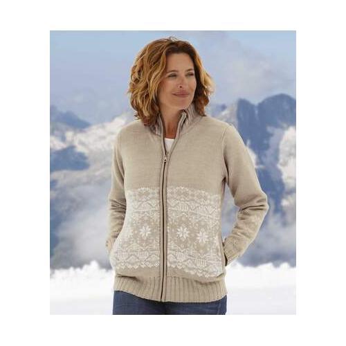 Jacke aus kuscheligem Fleece