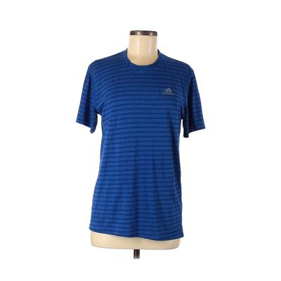 Adidas Active T-Shirt: Blue Prin...