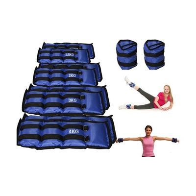 Paire de poids de fitness pour chevilles ou poignets : 2 kg