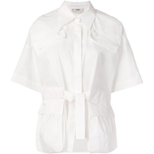 Fendi Hemd mit Schleifenverschluss