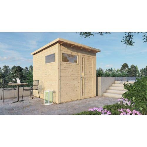 Alpholz - Garten- und Gerätehaus Design Pent , Naturbelassen