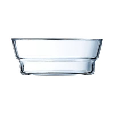 Cardinal Q1750 19 1/2 oz So Urban Food Storage Bowl - Glass, Clear