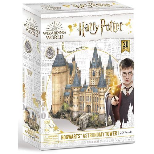 Revell 3D-Puzzle Harry Potter Hogwarts™ Astronomy Tower, der Astronomieturm braun Kinder 3D Puzzle Gesellschaftsspiele