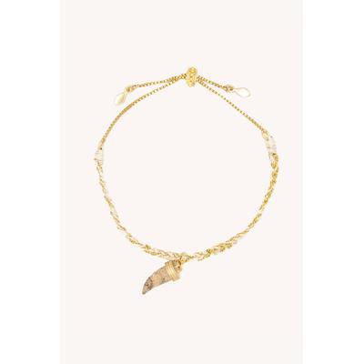Shark Tooth Slider Bracelet
