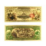Billet de banque coloré en argen...