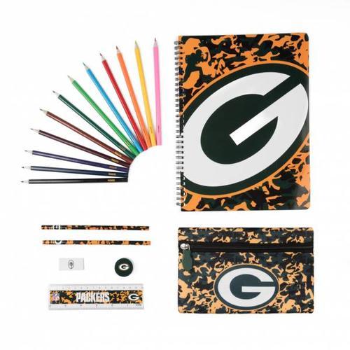Green Bay Packers NFL Ultimate Schreibwaren Set STNFLCMULTMGP