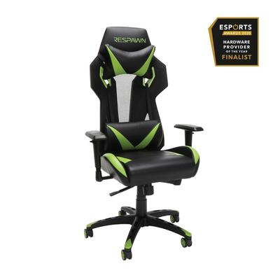 RESPAWN 205 Racing Style Gaming Chair in Green - OFM RSP-205-GRN