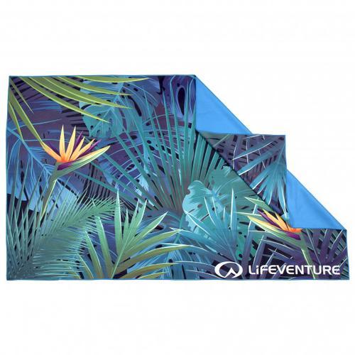 Lifeventure - SoftFibre Trek Towel - Mikrofaserhandtuch Gr One Size tropical