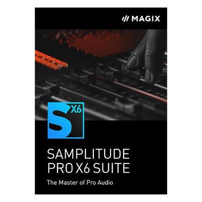 Magix Samplitude Pro X6 Suite UG...