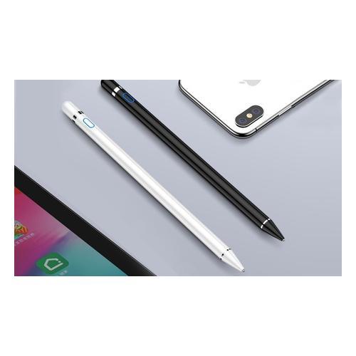 Touchscreen-Stylus-Stift: 1x Schwarz + 1x Weiß