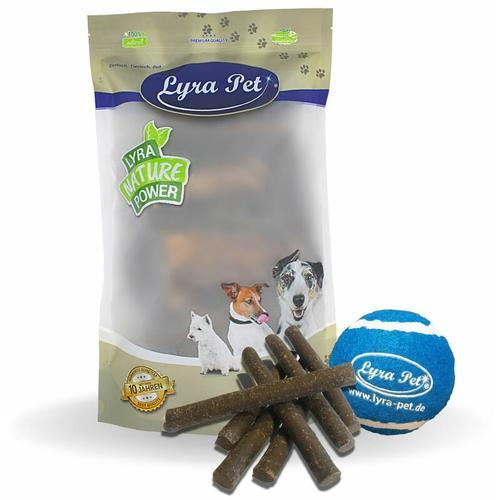 5 kg ® Hundesticks mit Insekten + Tennis Ball - Lyra Pet