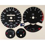 1988-1991 300 KMH E30 M Logo/VÉR...