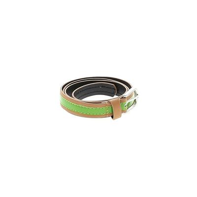 Kohl's Belt: Green Solid Accessories - Size 0