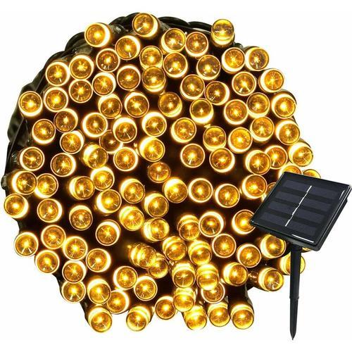 22M Solar Lichterketten 200 LED 8 Lichterketten Lichterketten Ideal für Party, Hochzeit, Geburtstag