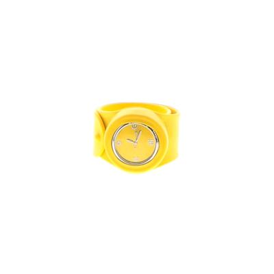 Watch: Yellow Solid Accessories