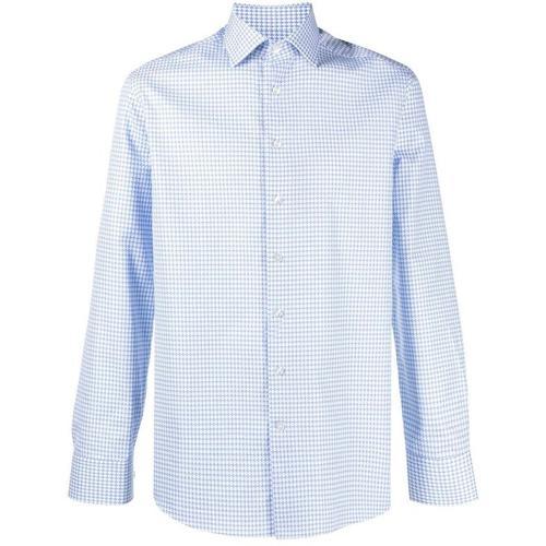 Etro Hemd mit Mikro-Muster