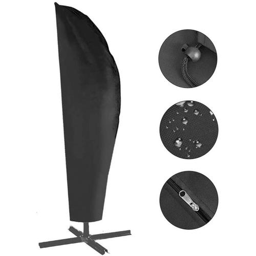 Schutzhülle für Ampelschirm - 420D Sonnenschirmhülle Abdeckhauben für Sonnenschirm für Schirm 2.5