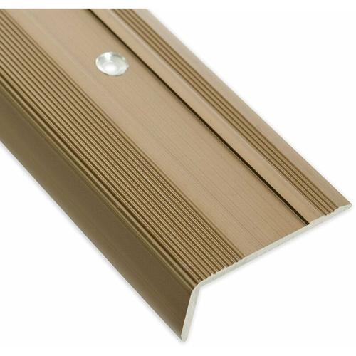 Stufenkantenprofil Glory Form: L Bronze Hell M 100 cm