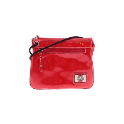 MAXX New York - MAXX New York Crossbody Bag: Red Solid Bags