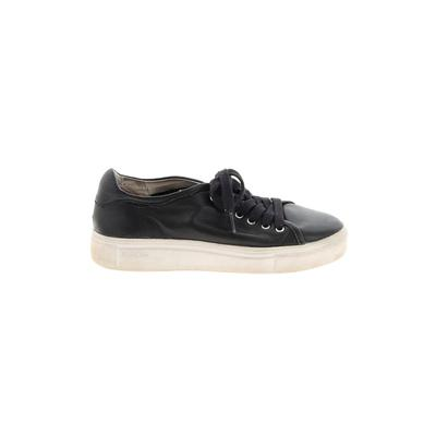 Blackstone Sneakers: Black Solid Shoes - Size 36