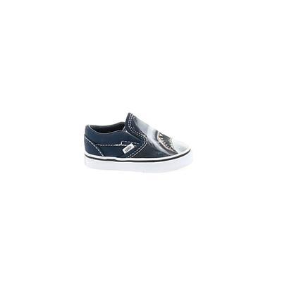 Vans X Disney Sneakers: Blue Solid Shoes - Size 5